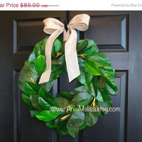 WREATHS ON SALE fall wreaths summer wreath fall wreath magnolia wreath front decorations front door wreaths