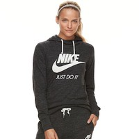 Women's Nike Sportswear Gym Vintage Long Sleeve Graphic Hoodie | null