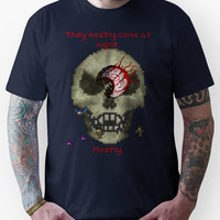 Terraria - They mostly come at night. Mostly.  Unisex T-Shirt