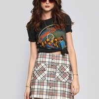 Milly Plaid Mini Skirt - Vintage | GYPSY WARRIOR