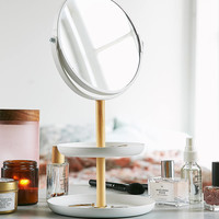 Tosca Tiered Catch-All Dish With Mirror   Urban Outfitters