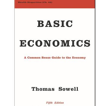 Thomas Sowell Basic Economics Hardcover Book