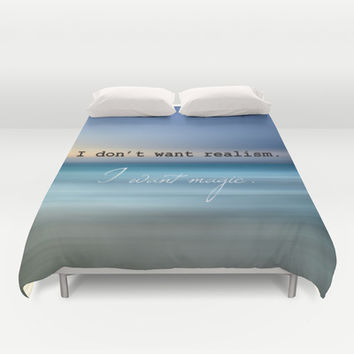 magic Duvet Cover by Steffi Louis Finds&art
