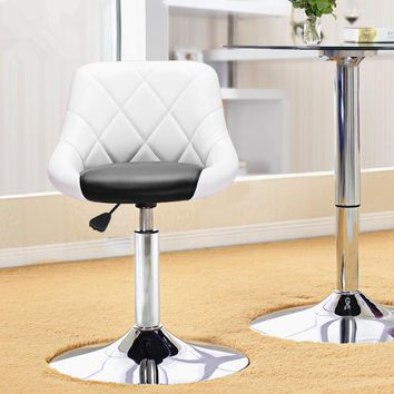 Simple Design High Quality Swivel Bar Chair Rotating Adjustable Height Pub Bar Stool Chair Office Lounge Chair PU Material