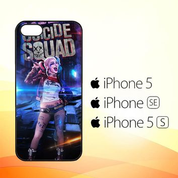 suicide squad  harley quinn W4447  iPhone 5|5S|SE Case
