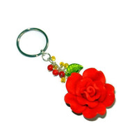 Red Rose Keychain, Alpha Gamma Delta