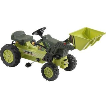 Big Toys USA Loader Tractor Pedal Green