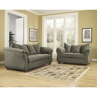 Flash Furniture Signature Design by Ashley Darcy Living Room Set in Sage Fabric [FSD-1109SET-SAG-GG]