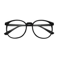 Nerdy Large Retro Style Clear Lens Round Eye Glasses Frames R1720