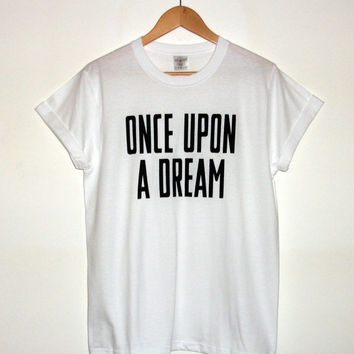 Lana Del Rey Inspired 'Once Upon A Dream' T-shirt