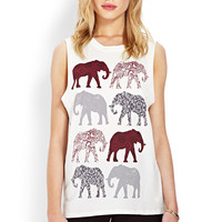 Elephant Muscle Tee | FOREVER21 - 2000063937