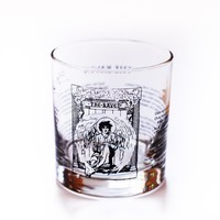The Raven - Poe Rocks Glass