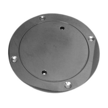 304 Stainless Steel Deck Round Plate Yacht Marine 150mm