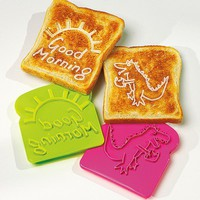 Retro Toast Stamps - Set ot 2 - 57803 - Betterware