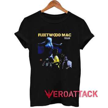 Fleetwood Mac Tour T Shirt Size XS,S,M,L,XL,2XL,3XL