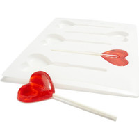 Sur La Table Hearts Lollipop Mold from Sur La Table | BHG.com Shop