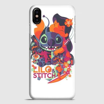 Lilo Stitch iPhone X Case