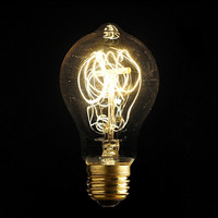 Hotsale A19 E27 40W Vintage Retro Edison Tungsten Bulb Filament Antique Industrial Style Incandescent Light Bulb Home Decor Lamp = 1945999300