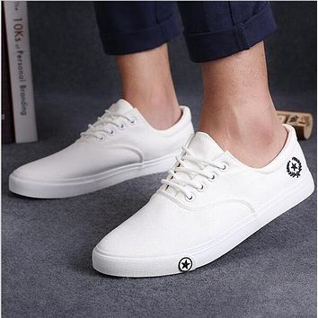 2017 new Mens casual shoes man flats breathable Mens fashion classic outdoor shoes Mens canvas Shoes for Men Zapatos de hombre