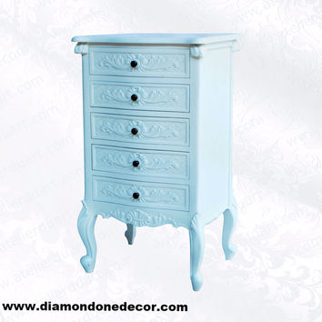 FABULOUS BAROQUE FRENCH PROVINCIAL REPRODUCTION TALLBOY CHEST