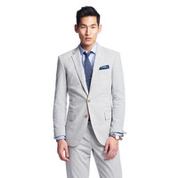Ludlow suit jacket with center vent in Japanese seersucker - suiting - Men - J.Crew