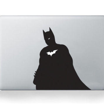 Batman Look-Alike Laptop Macbook Air Pro Vinyl Sticker Decal Macdecal Macsticker Marvel Comics Heroes Cartoons DC HP, Dell, Thinkpad Acer