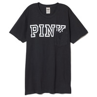 Campus Pocket Tee - PINK - Victoria's Secret