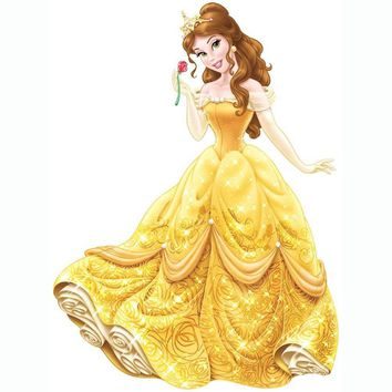 Disney Belle Wall Accent Glamour Princess Giant Sticker