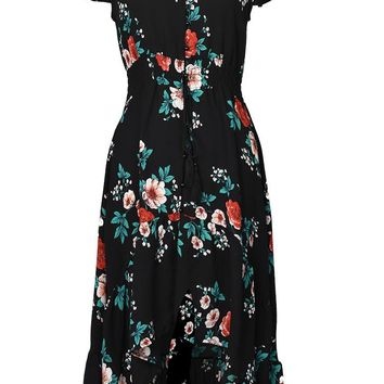 Cupshe Miss flowers Print Dress