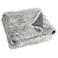Oversized Ombre Faux Fur Throw - Gray$63.96$79.95