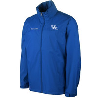 Kentucky Wildcats Glennaker Lake Full Zip Rain Jacket - Royal Blue