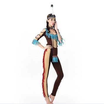 Free shipping!!!  Halloween Costumes For Women  Indian Costume  Halloween Masquerade Cosplay Indian Goddess