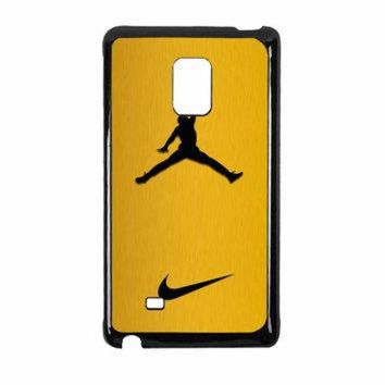 VONR3I Nike Air Jordan Golden Gold Samsung Galaxy Note Edge Case