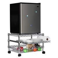 Mini Fridge Cart for Dorms | Shelving.com
