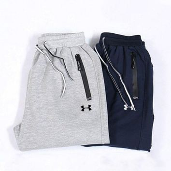 CREYV9O UNDER ARMOUR Men Lover Casual Pants Trousers Sweatpants