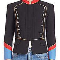 Marc by Marc Jacobs - Gabardine Military Jacket - Saks Fifth Avenue Mobile