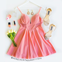 Back In Stock: Apricot Delight Dress