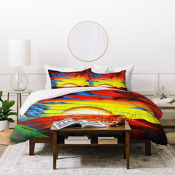 Madart Inc. Tropical Bliss Duvet Cover