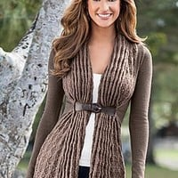 Buckle Closure Cardigan