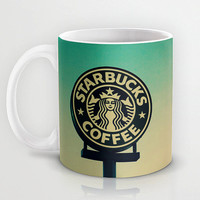 Personalized mug cup designed PinkMugNY- Starbucks &coffee