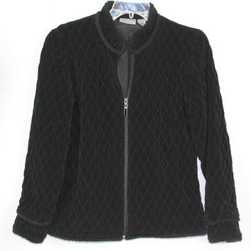 Chico's Travelers Jacket/ Coat Quilted Sz 0 Small