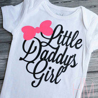 Little Daddy's Girl - Father's Day Vinyl Shirt