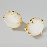 Ippolita 18k Gold Rock Candy Gelato Mother-of-Pearl Stud Earrings