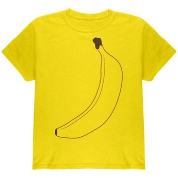 ESBGQ9 Halloween Fruit Banana Costume Youth T Shirt