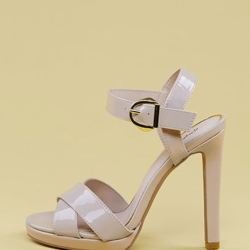 Ankle Strap Platform Stiletto Heel Sandals