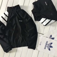 Adidas Gosha Fashion Zipper Cardigan Sweatshirt Jacket Coat Windbreaker Sportswear G-A