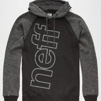 Neff Corporate Mens Hoodie Black  In Sizes