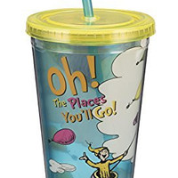 Dr. Seuss Oh the Places 18 Oz. Acrylic Travel Cup