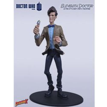 DOCTOR WHO - THE ELEVENTH DOCTOR (SERIES 5 BROWN JACKET) - DYNAMIX ULTRA-STYLIZED VINYL FIGURINE