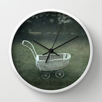 Left behind Wall Clock by Bruce Stanfield
